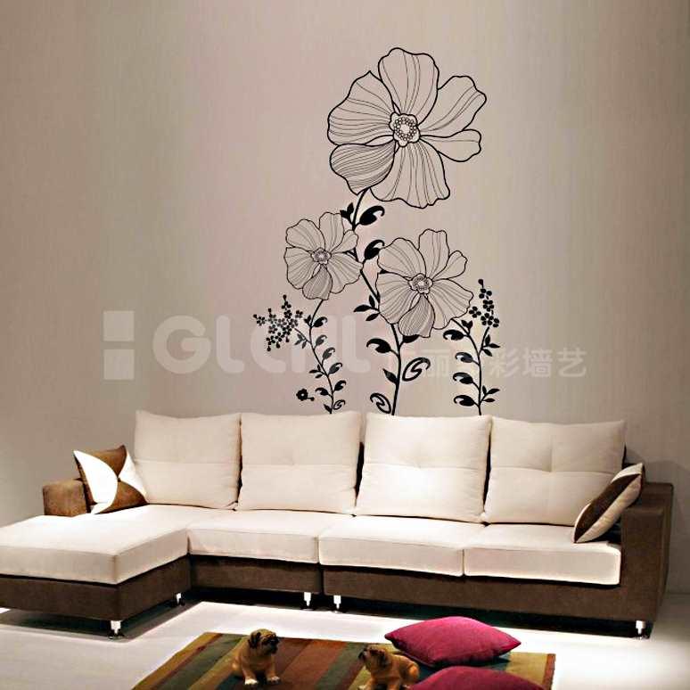 花纹沙发背景