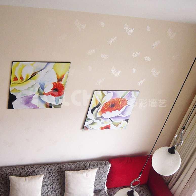 壁纸效果沙发背景
