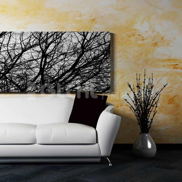 质感艺术背景墙