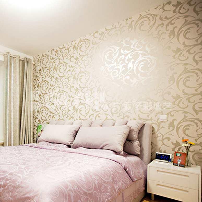 现代风格床头背景