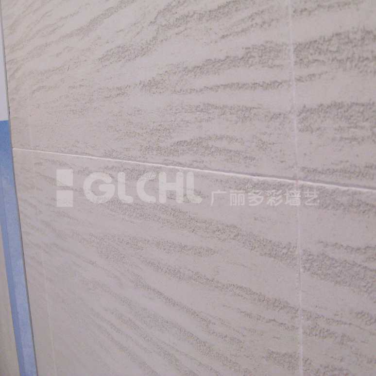 仿石材质感墙艺