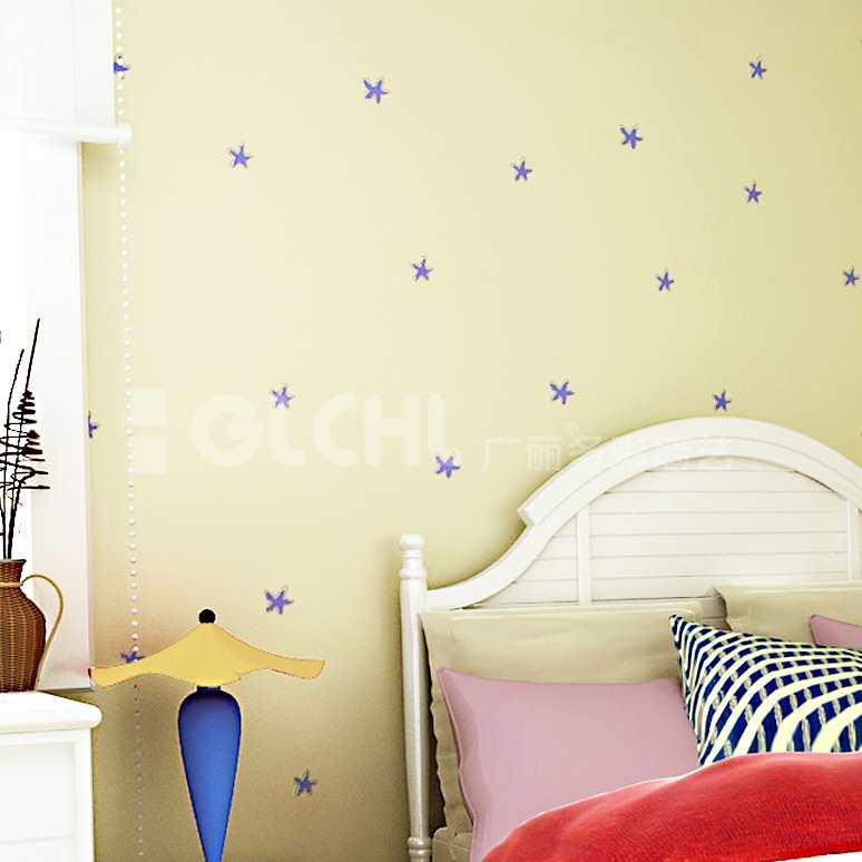 儿童房手工墙纸